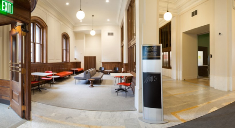 Lobby Main Entrance Wnf Kendall College Of Art And