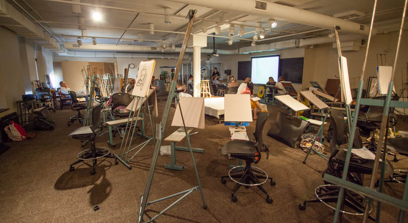 Figure Drawing Classroom  Kendall College of Art and