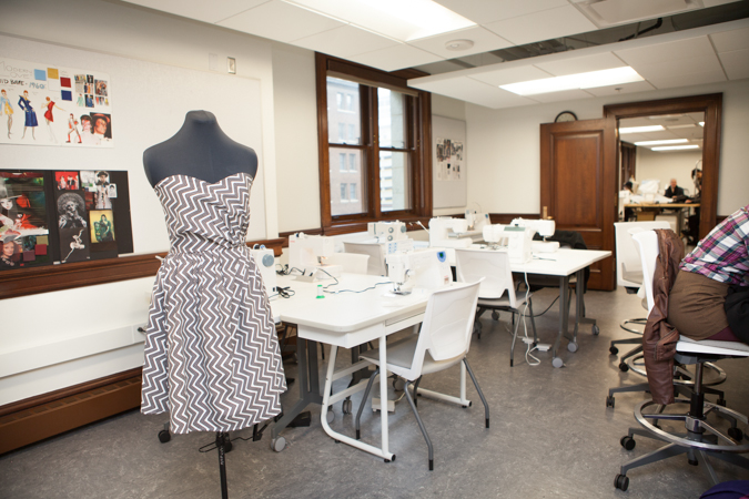 Fashion Studies Classroom  Kendall College of Art and Design of Ferris State University
