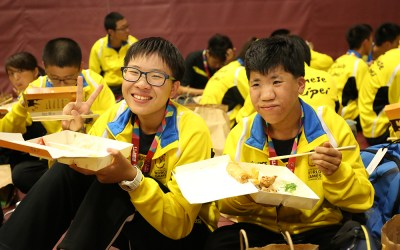 KCAL Insurance Agency President Provides Lunches for Chinese Taipei Special Olympics Athletes