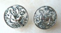 Vintage Sarah Coventry Woodland Flight Clip On Earrings.