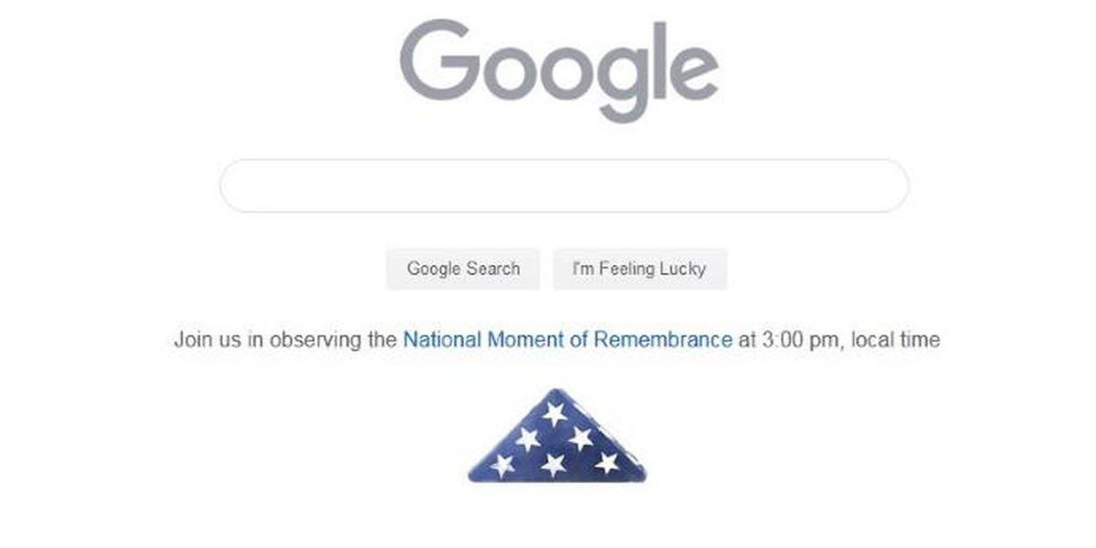 Google Doodle reminds viewers to observe the National