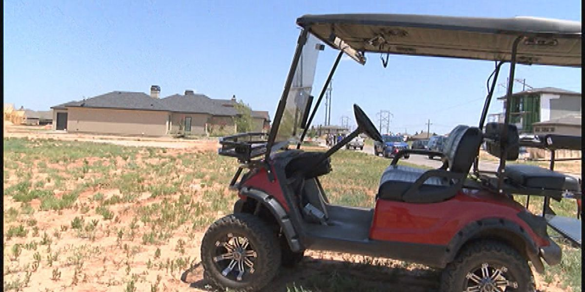 Lubbock citizens call for golf cart safety awareness
