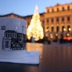 Gluehwein at Schönnbrunn Castle Christmas Market - photo courtesy of M. Gardzina