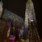 Stephansdom Christmas Market in Vienna
