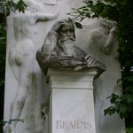 Tombstone of Johannes Brahms in Vienna's Central Cemetery