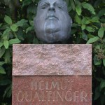 Helmut Qualtinger Grave in Central Cemetery in Vienna