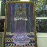 Ernst Fuch Jesus Painting