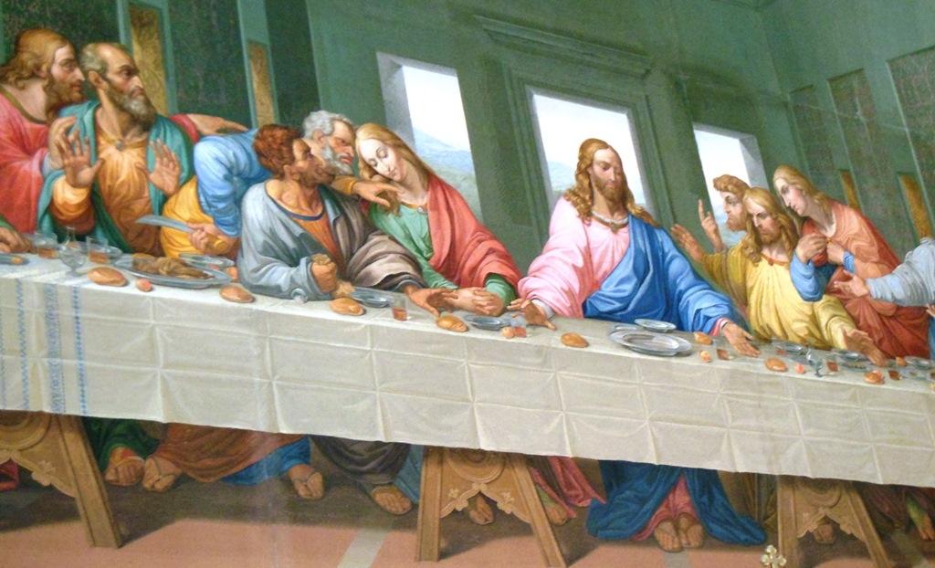 Napoleon, Jesus and the Free Masons: The Last Supper in ... Da Vinci Last Supper High Resolution