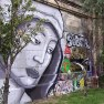 Mary graffiti, Vienna, Donaukanal, Austria, 2014