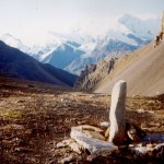 Thorung La Pass Marker
