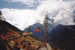 Annapurna Circuit and Prayer Flags