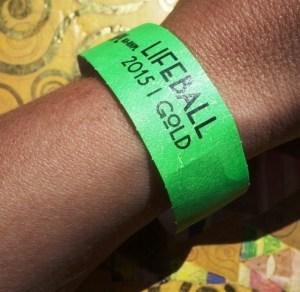 Lifeball Press Wristband