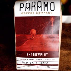 Paramo Coffee Shadowplay (Rwanda Musasa)
