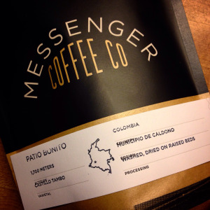 Messenger Coffee Co. Patio Bonito (Colombia)