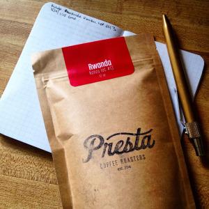 Presta Coffee Roasters Rwanda Kanzu Lot #13