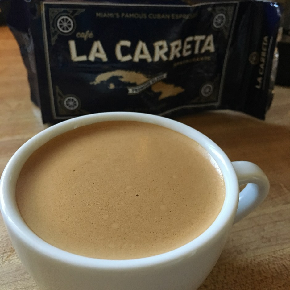 La Carreta cuban coffee