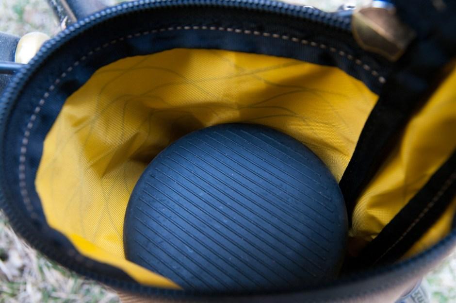 Yellow X-Pac interior