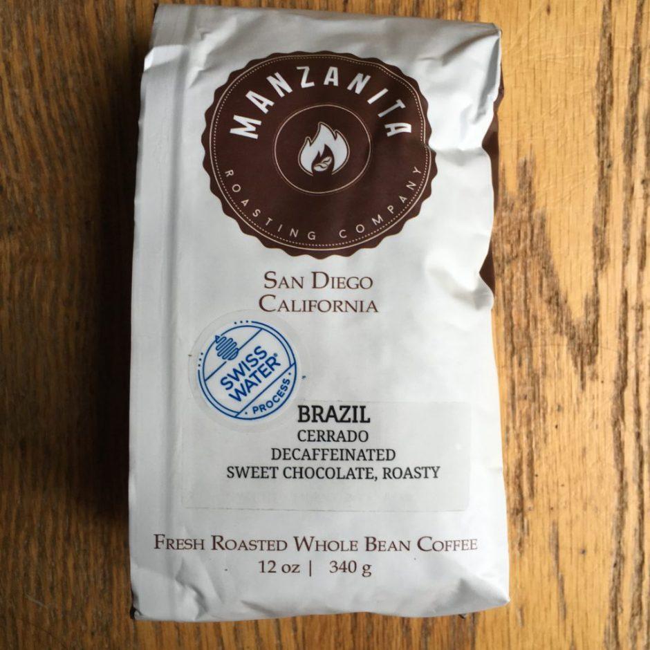 Manzanita Brazil Decaf
