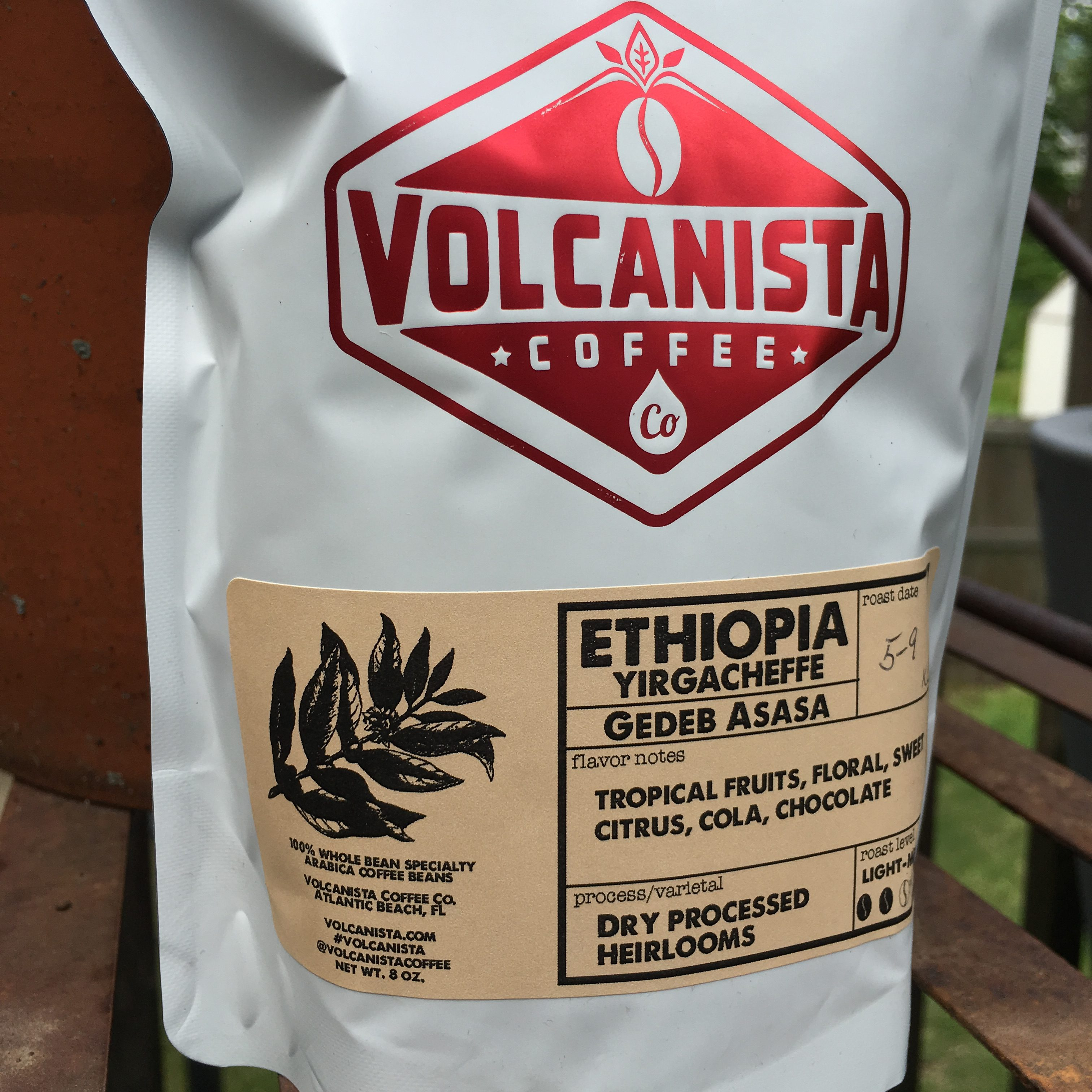 Volcanista Coffee Co. Gedeb Asasa Dry Process