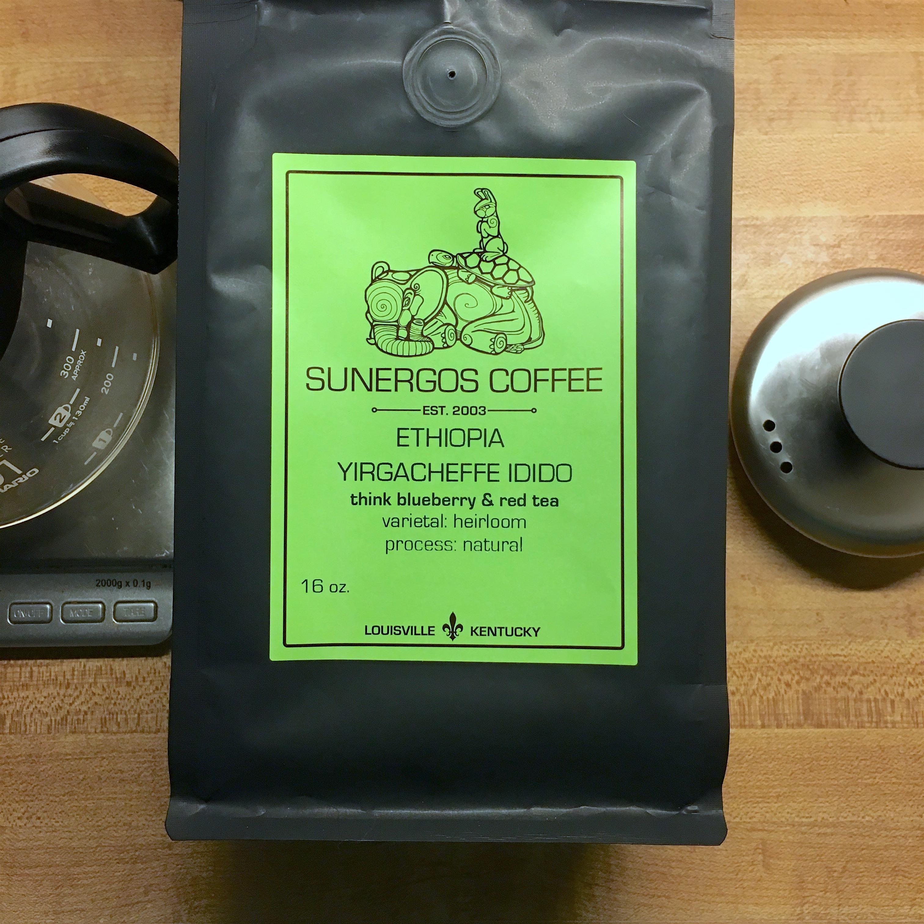Sunergos Coffee Ethiopia Yirgacheffe Idido Natural