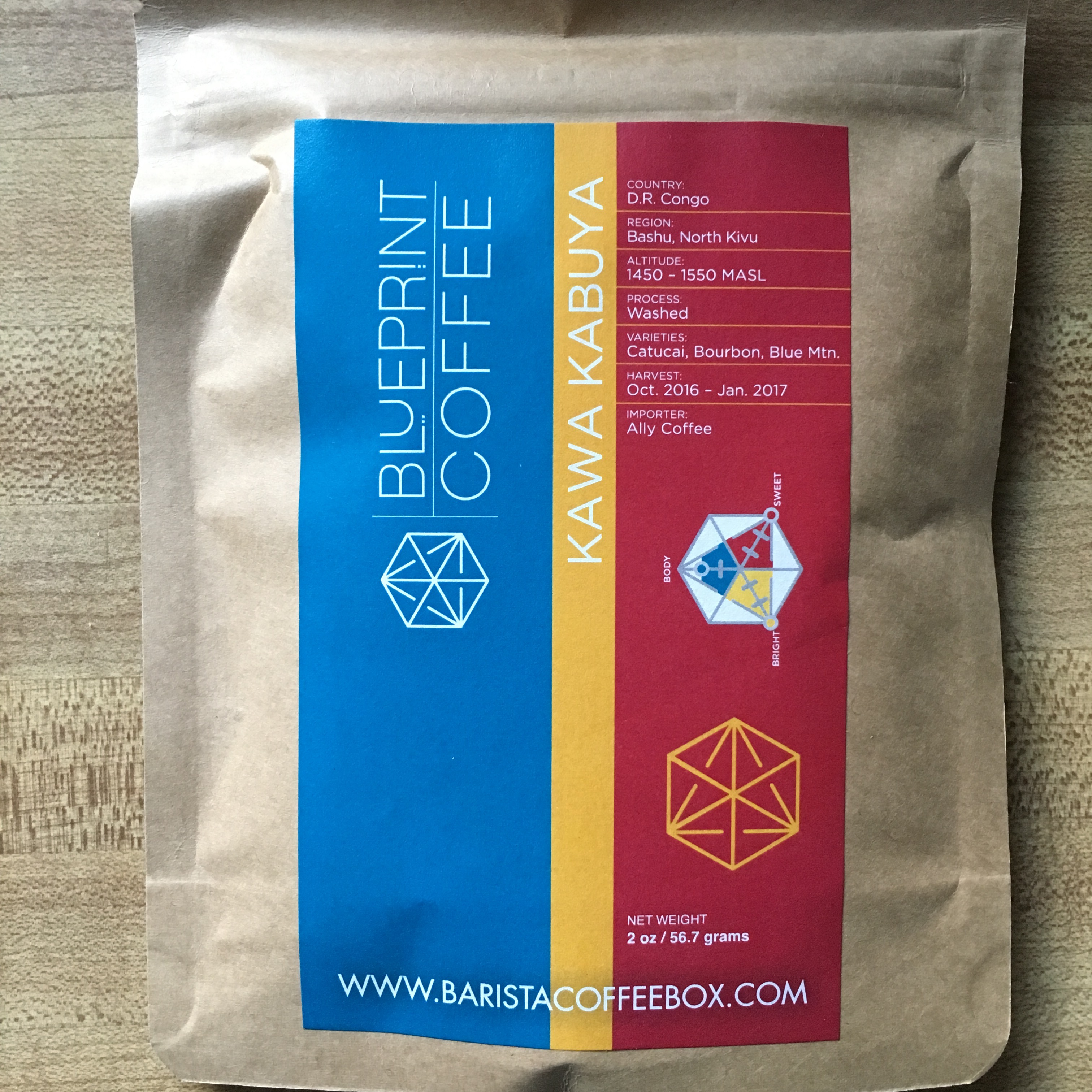 Blueprint coffee congo kawa kabuya kc coffee geek im excited to get into this months barista coffee box because july features blueprint coffee a st louis roaster and shop that is one of the jewels of malvernweather Choice Image