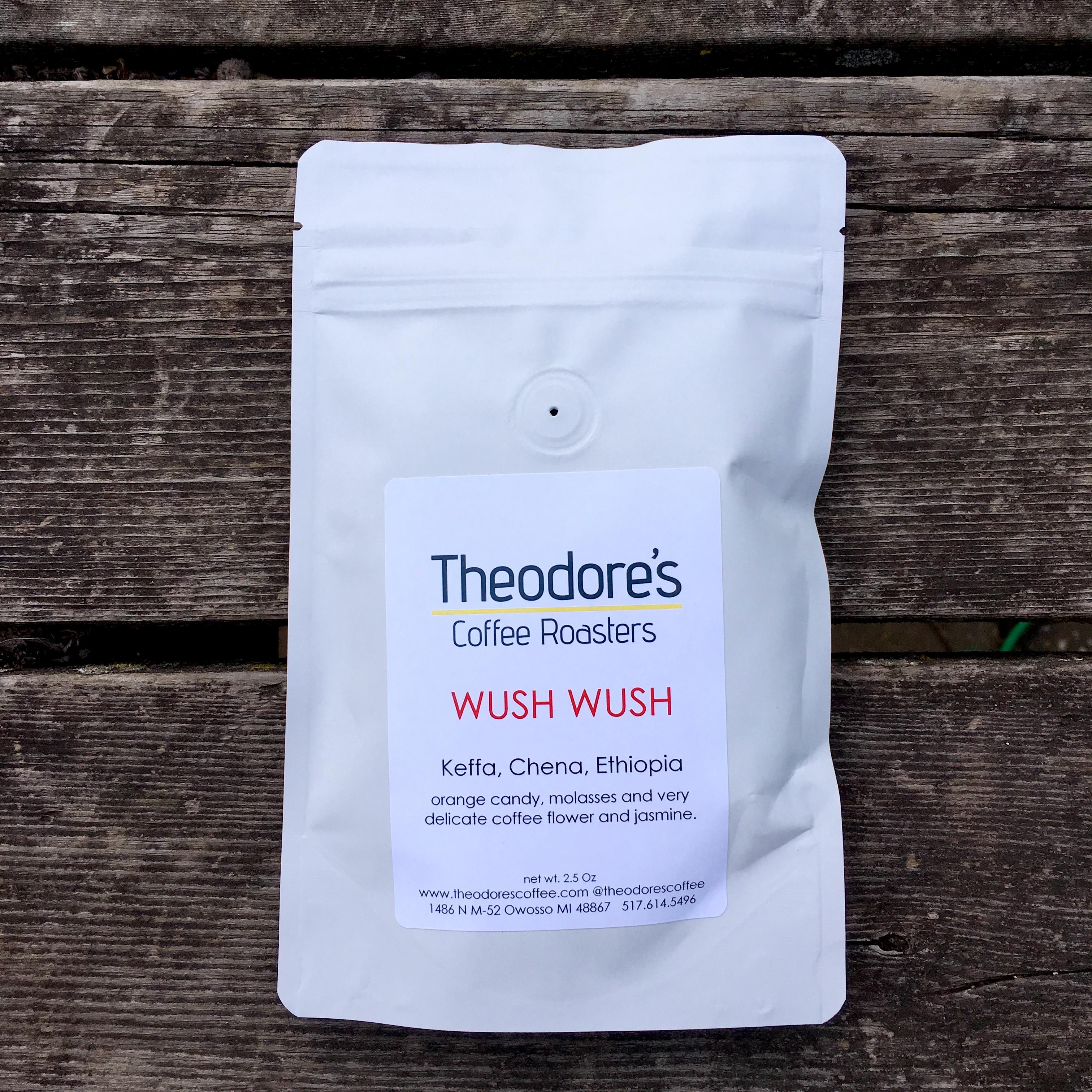 Theodore's Coffee Roasters Ethiopia Wush Wush – KC Coffee Geek