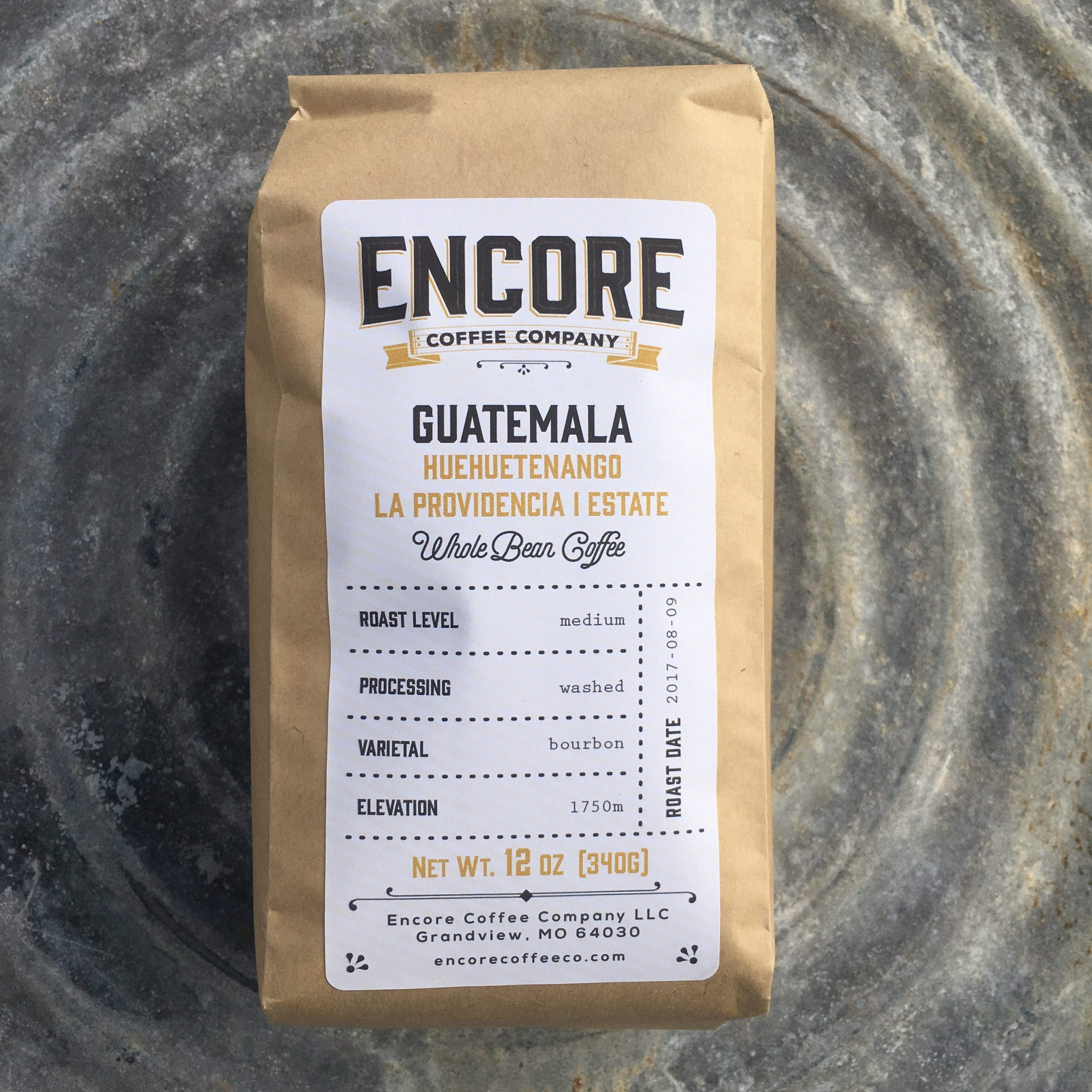 Encore Coffee Co. Guatemala Huehuetenango La Providencia Estate