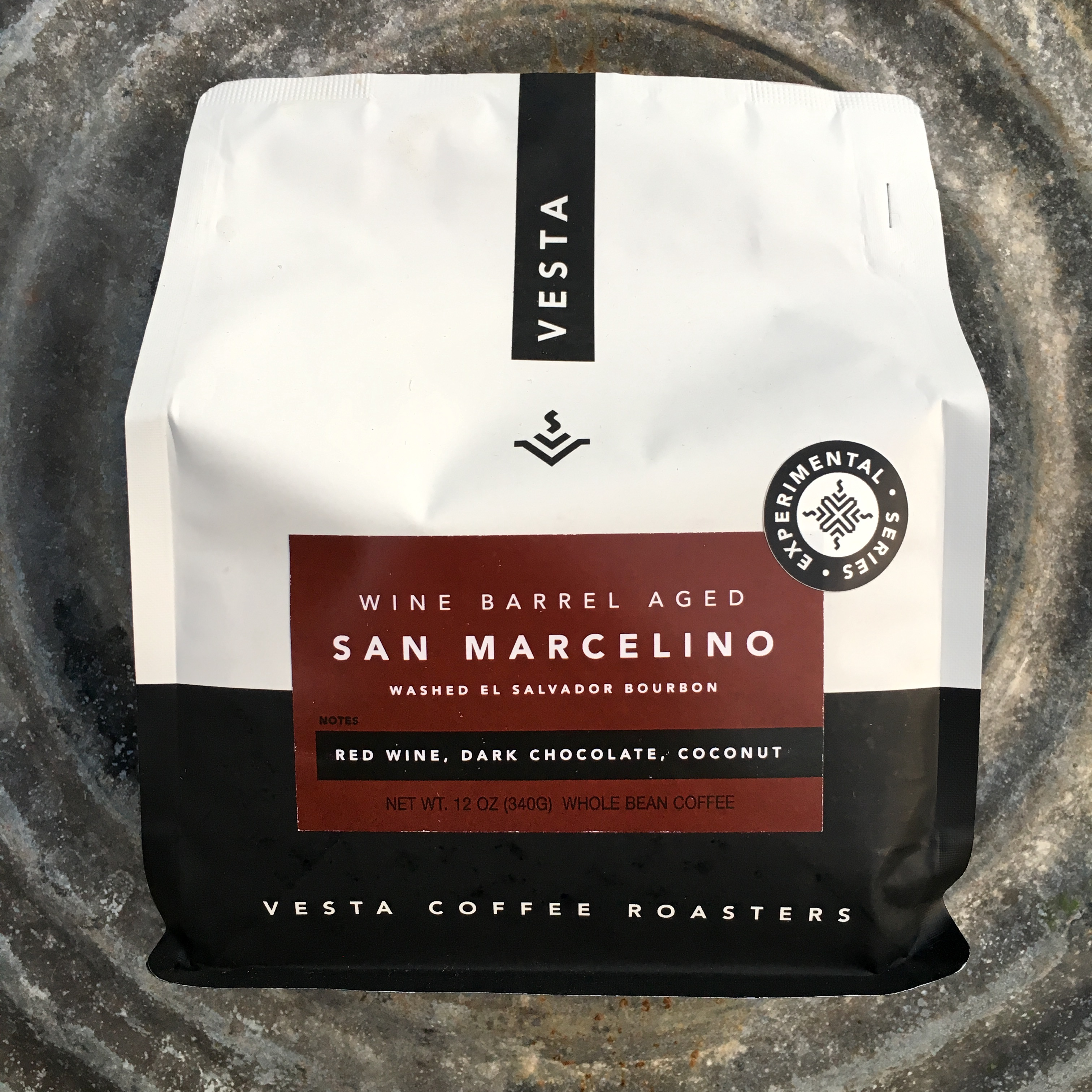 Vesta Coffee Roasters Wine Barrel Aged San Marcelino