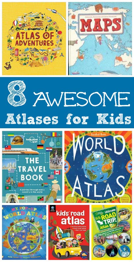 Geography for Kids 8 Awesome Atlases Edventures with Kids