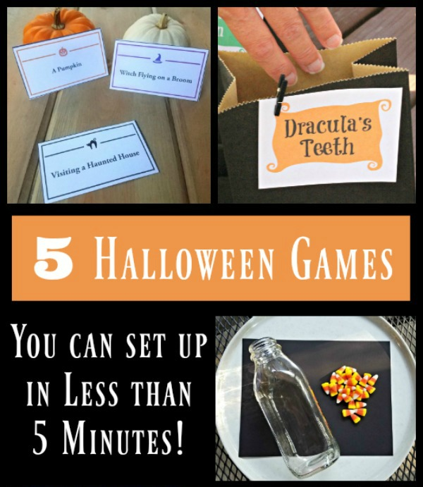 If you're thinking more along the lines of a late night halloween bash — we're thinking shots. Halloween Party Games For Kids With Free Printables Edventures With Kids