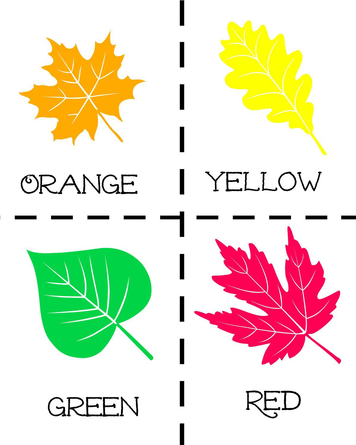 We Re Going On A Leaf Hunt With Free Printables And Math Activities
