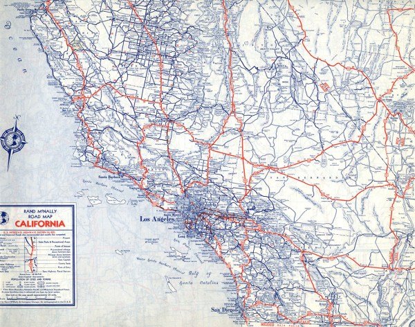 The Lost US Highways of Southern California History KCET