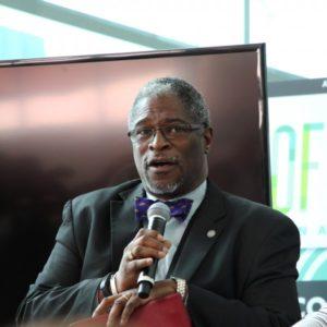 Mayor Sly James speaks on panel
