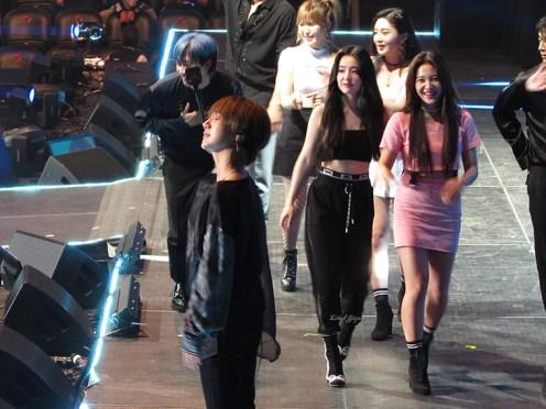 KCON NY 2018 - Yesung Eunhyuk Red Velvet