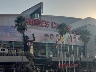BTS - Staples Center - 2018 Love Yourself Tour