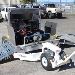 Wheelchair Trailer La Z Boy Lift Chair Repair Parts Electric Non Passenger Kci