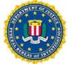 Official seal for the Department of Justice.