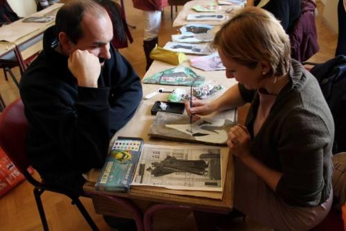 Radionice slikanja na kamenu sa umetnicom biljanom Ristić (2)