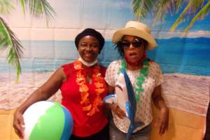 Beach Party with Kathy's Circle of Friends