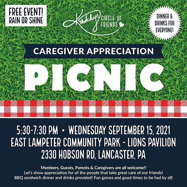 Caregiver Appreciation Picnic - Free Event!