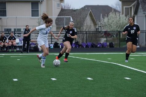 Varsity girls' soccer wins big against Emporia