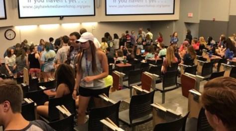 Publications staffers attend journalism camps
