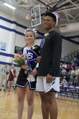 Nominees take the court for crowning