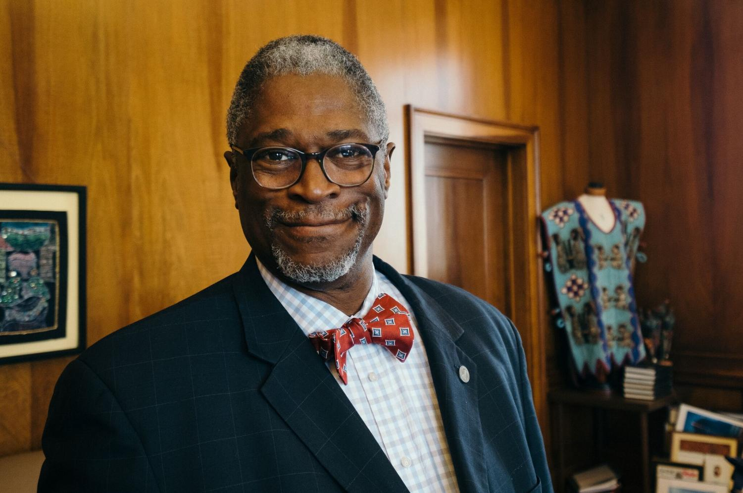 Kansas City, MO mayor Sly James said he believes students are the future and must take part in discussions on gun control.