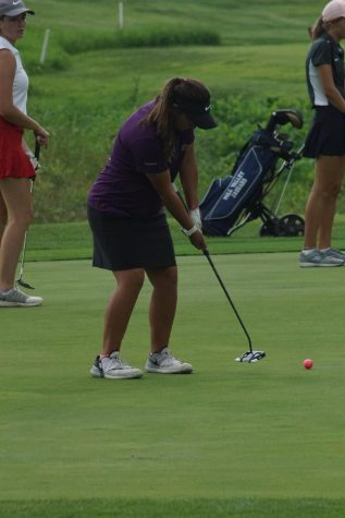 Girl's Golf takes second in their first home meet