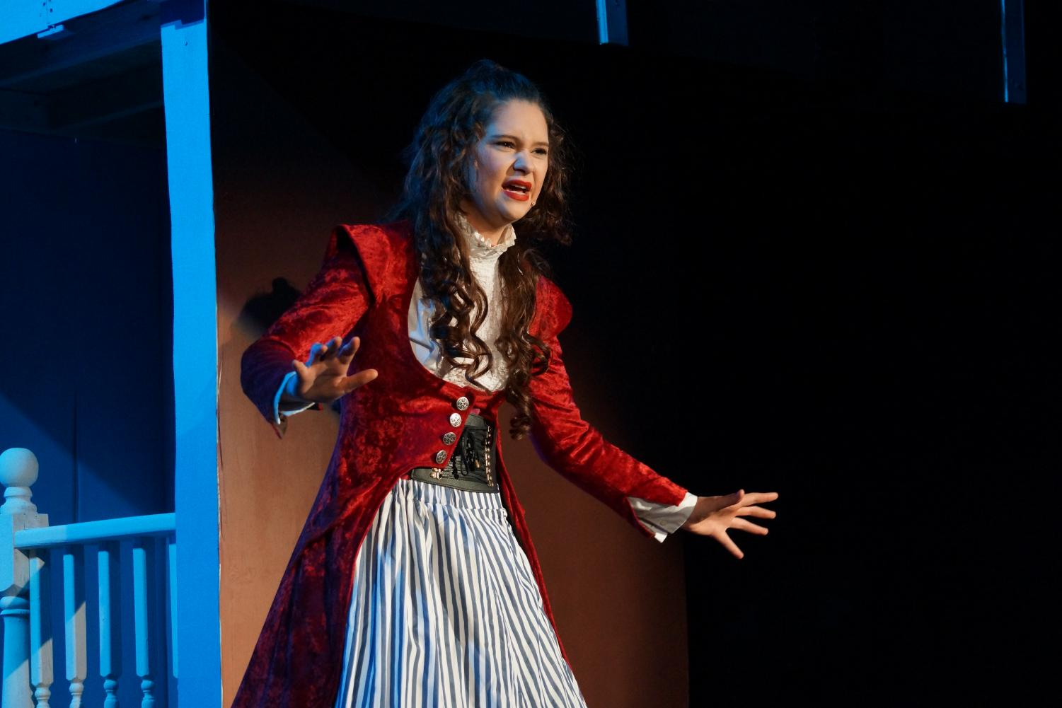 Aylea Cole sings as Josephine March, the protagonist of the musical.