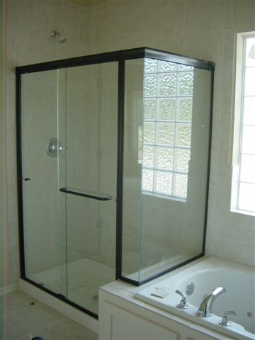 Framed Shower Door Photo Gallery  Precision Glass