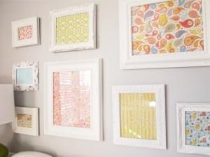 pink-grey-baby-nursery-fabric-wall-art