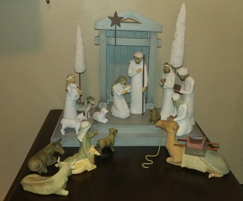 Get Your Raffle Tickets for a Willow Tree Nativity Set